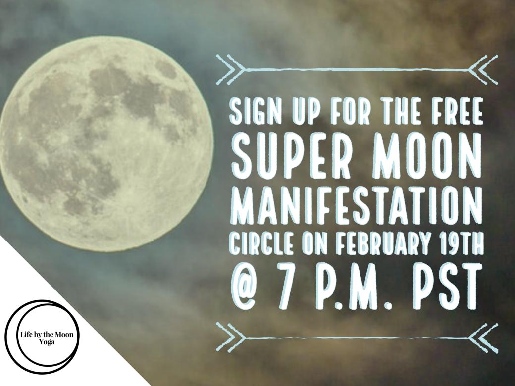 full moon manifestation ritual
