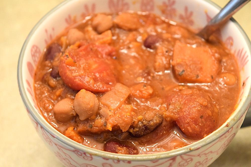 Spicy Vegan Chili Recipe