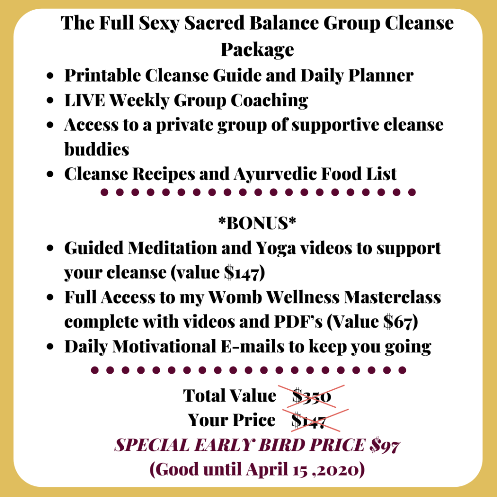 ayurvedic cleanse, group cleance, online cleanse coaching, cleanse